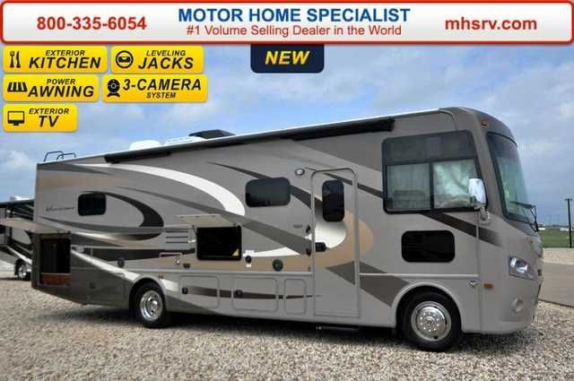 2016 New Thor Motor Coach Hurricane 31S W/Jacks, Ext. TV, 15.0 BTU Class A in Texas TX.Recreational Vehicle, rv, 2016 Thor Motor Coach Hurricane 31S W/Jacks, Ext. TV, 15.0 BTU A/C, Pwr OH Bunk, EXTRA! EXTRA! The Largest 911 Emergency Inventory Reduction Sale in MHSRV History is Going on NOW! Over 1000 RVs to Choose From at 1 Location! Take an EXTRA! EXTRA! 2% off our already drastically reduced sale price now through Feb. 29th, 2016. Sale Price available at or call 800-335-6054. You'll…