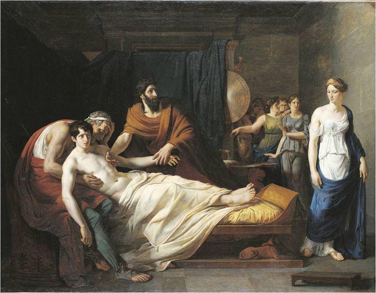 Antiochus a Stratonice, Alexandre Charles Guillemot