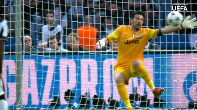 Buffon's Save In The '15 Champions League Final From Every Angle