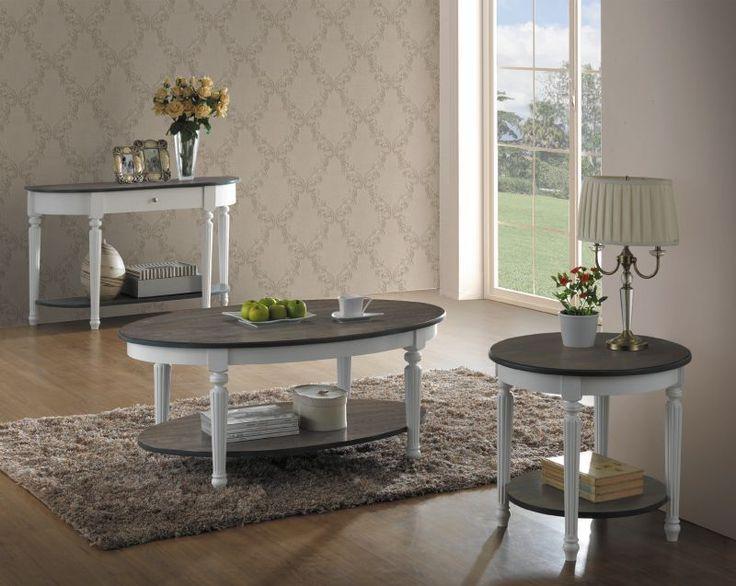 Ława VALENCIA B to niezwykle elegancka do salonu, posiada owalny blat z MDFu oklejonego naturalnym fornirem.