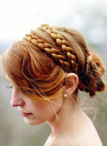 diy headband braid