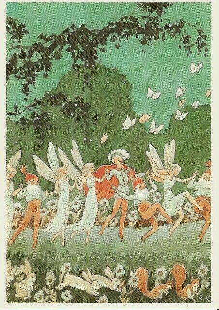 Rabbits, faeries, gnomes