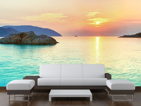 Wall Mural Self Adhesive wall decal Photo by ImpressionXL on Etsy, $168.00
