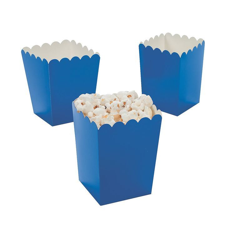 Our Mini Popcorn Boxes are perfect for your next gathering. Use them to serve your favorite snacks and treats anytime of the year. We offer them in smaller quantities to allow you to mix and match col