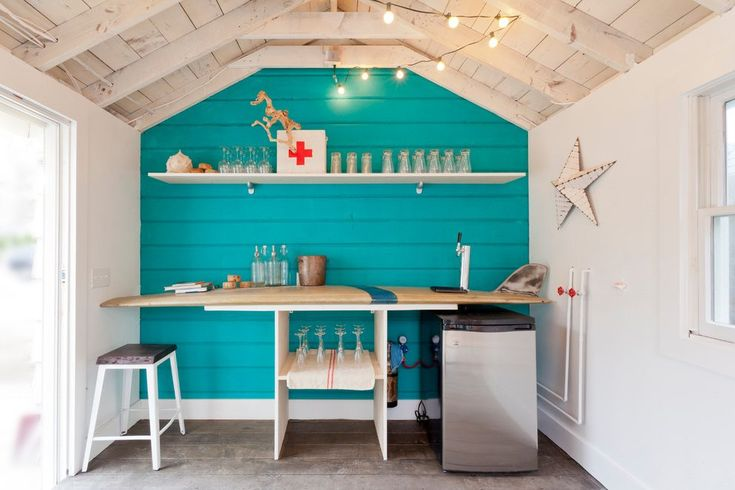 Beach bar decorating ideas shed beach style with teal kitchen cousins new jersey