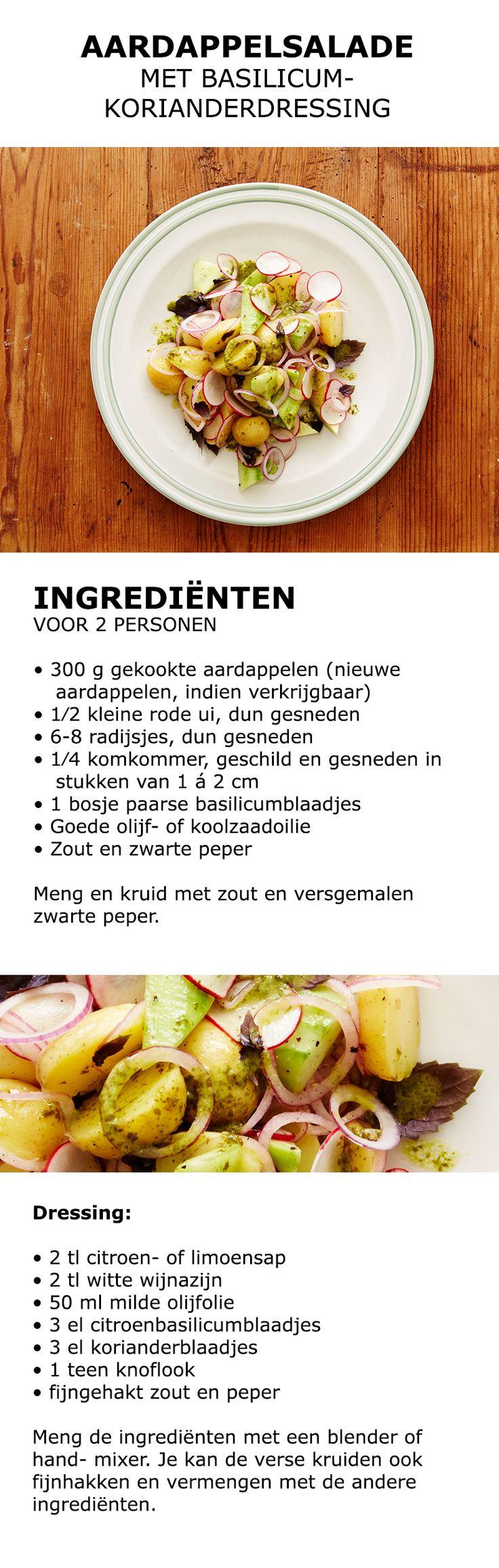 Inspiratie in de keuken - Aardappelsalade | #IKEA #IKEAnl #inspiratie #koken #eten #aardappel #salade #kweken #tuinieren #groente #kruiden