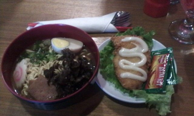Lunch at Ohayou Ramen Cafe