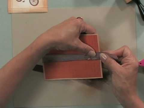 Creating a Masculine Card with a Scor-Buddy - Part 2