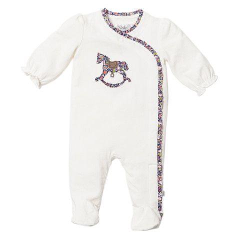 Bebe Liberty XW14-951 Kayoko Liberty Wrap Romper – Sweet Thing Baby & Childrens Wear #Winter #Cloth #Girl sweetthing.com.au