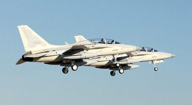 Los nuevos FA-50 de la Fuerza Aérea de Filipinas se estrenan en combate -noticia defensa.com