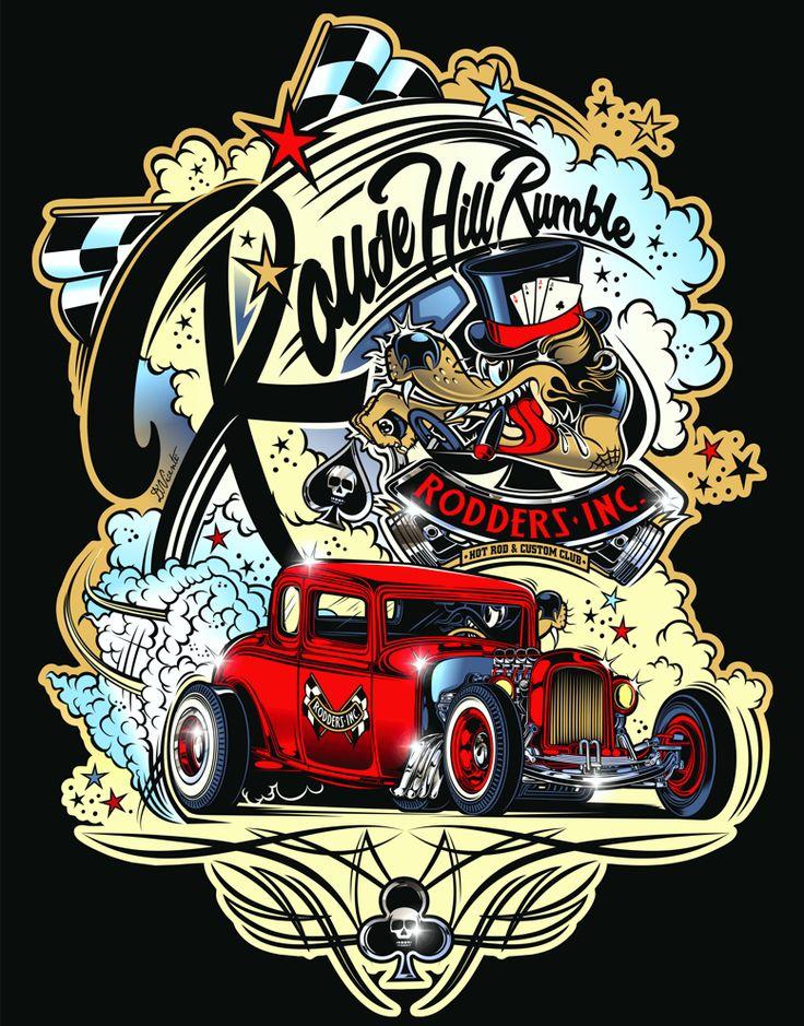 """Rodders Inc."" - AUS on Behance"