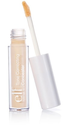 E.L.F Tone Correcting Concealer: A concealer that actually does what it's supposed to and smells like oranges! $1
