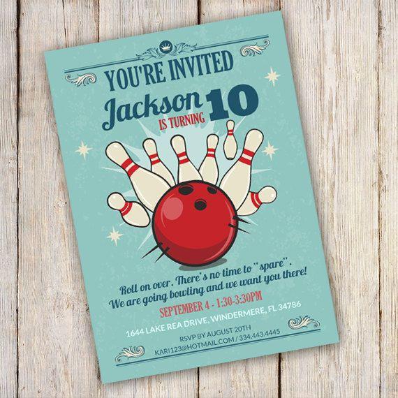 Best 25+ Bowling birthday invitations ideas on Pinterest Bowling - downloadable birthday invitation templates