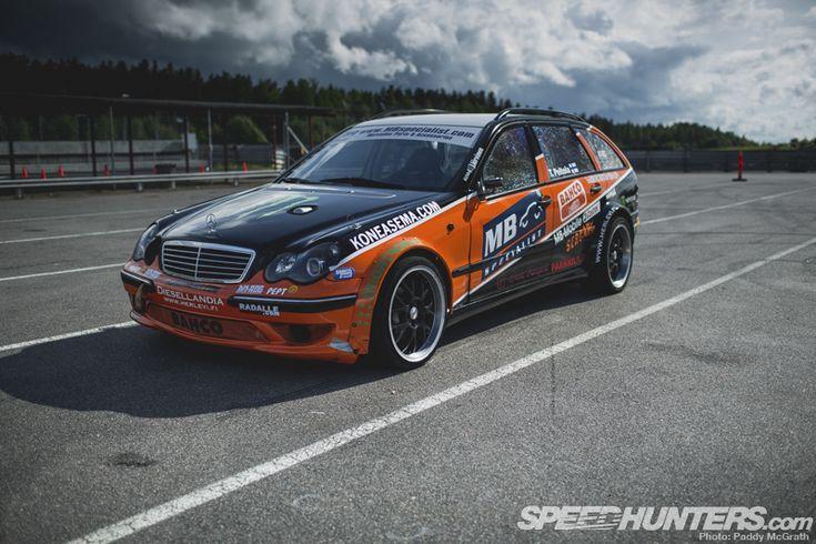 Black Smoke Racing Mercedes W203