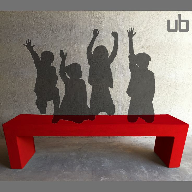 We absolutely can't wait to see bright benches in schools, parks and city spaces around #johannesburg! We are ending waste concrete and turning it into this beautiful #socialseating! #red #concrete #follow #southafrica #simunye