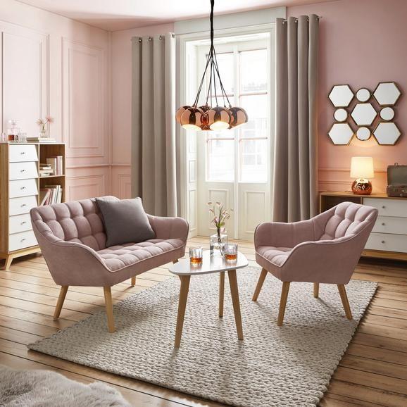 Sofa In Rosa Monique In 2020 Zweisitzer Sofa Haus Deko Und Wohnen