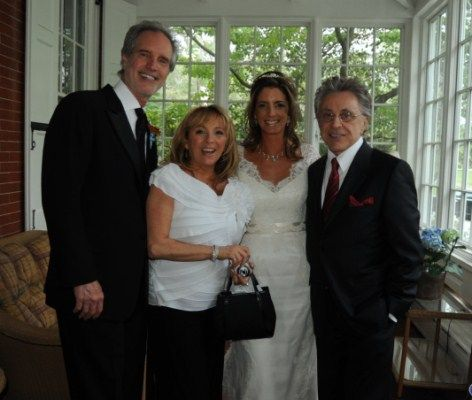 Bob Gaudio, Toni Valli (Frankie's daughter), Lisa Gaudio ...
