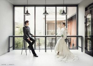 Classy Korean Wedding Photography by Timetwo Studio