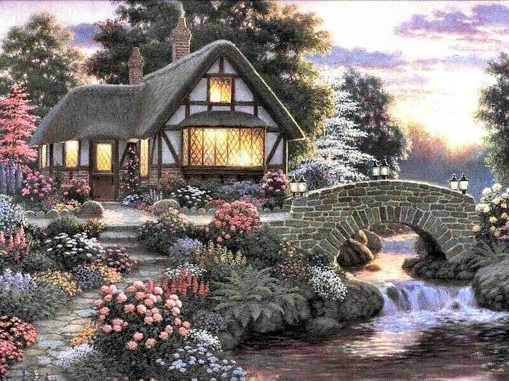 285 best Charming Cottages ♡ images on Pinterest   Cottage ... - photo#44