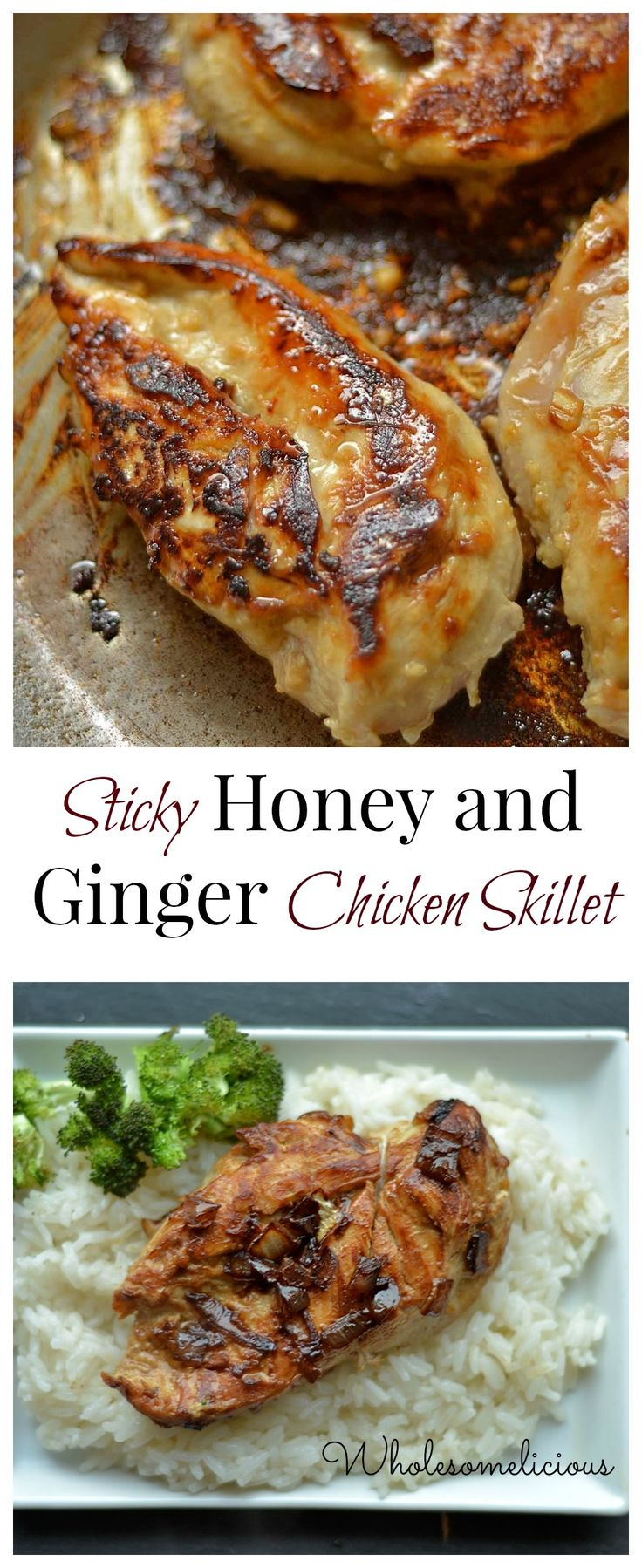 Skillet Roasted Chicken With Ginger And Soy Recipe — Dishmaps