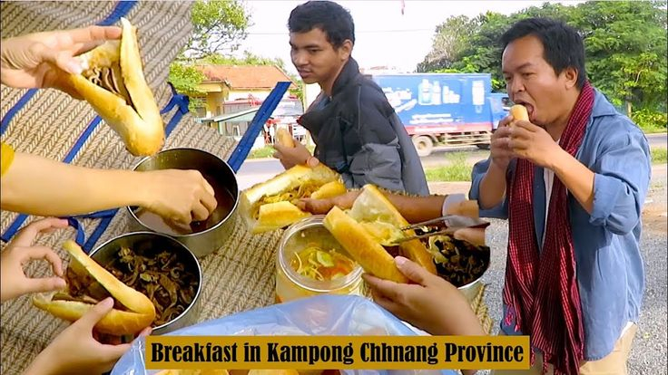 Breakfast in Kampong Chhnang Province and Dinner at Pursat Province