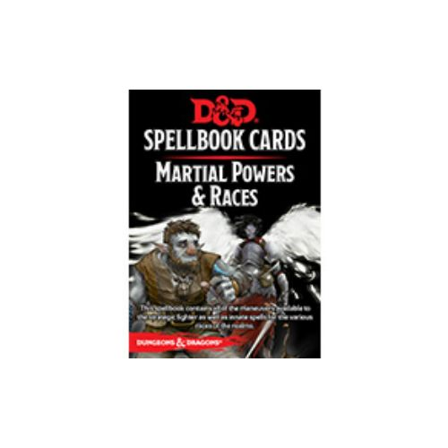 D&D Spellbook Cards Martial Powers & Races Revised