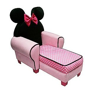 Minnie Lounge, how precious is this? I can see one little girl just having a blast on it.
