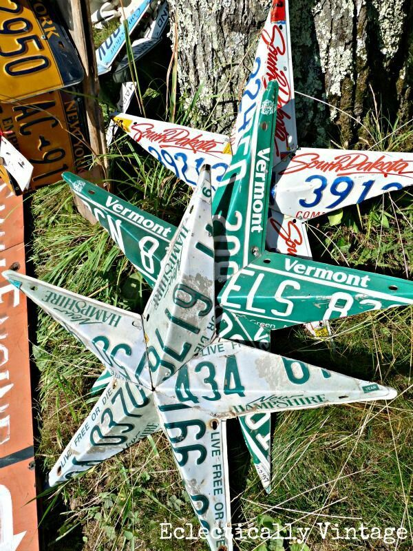 License plate stars