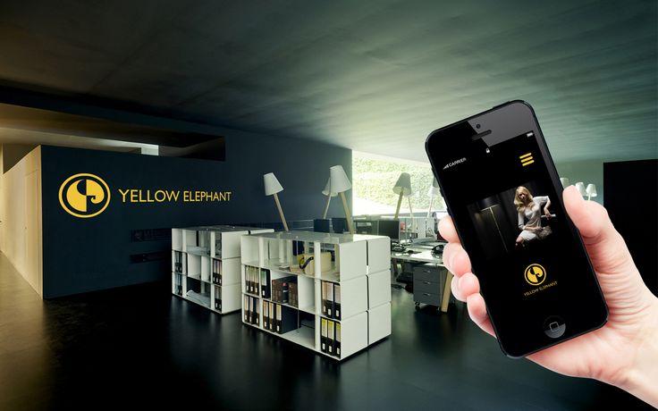 Branding - Logo Yellow Elephant