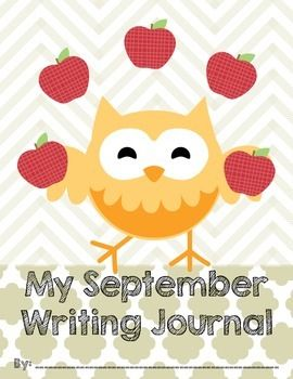 Fall Writing Journal Covers are just that! But if you like OWLS, this set might just be right for you! Making writing journals for your class couldn't be easier. You provide your own writing pages, so you use the ones that best suit your grade and students, and leave the journal covers up to me!