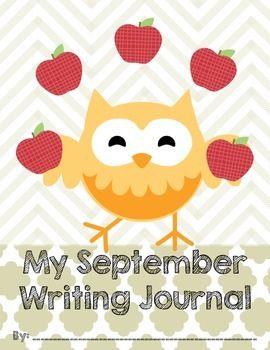 Fall Writing journal Covers- Owl Theme FREEBIE!