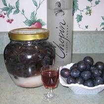 Polish Plum Nalewka or Cordial