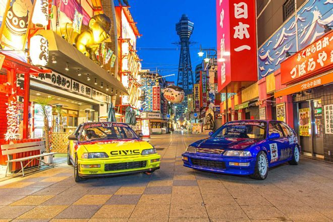 Meet two very special EF Honda Civics and their owners from Japan's Kansai region, the Mecca of Civic-centric communities.