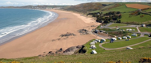 Pinned from the I Spy Camping blog:woolacombe-beach-devon-UK