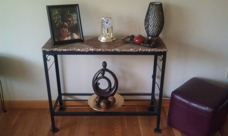 Table from a fish tank stand.