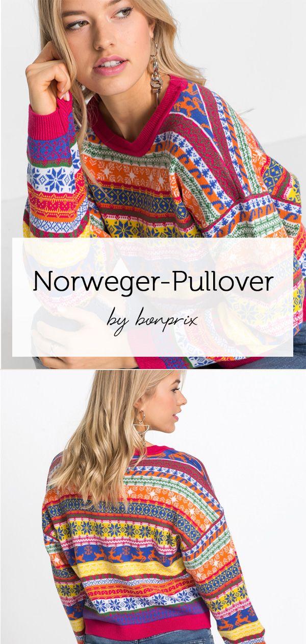 norweger.pullover rundhalsausschnitt damen