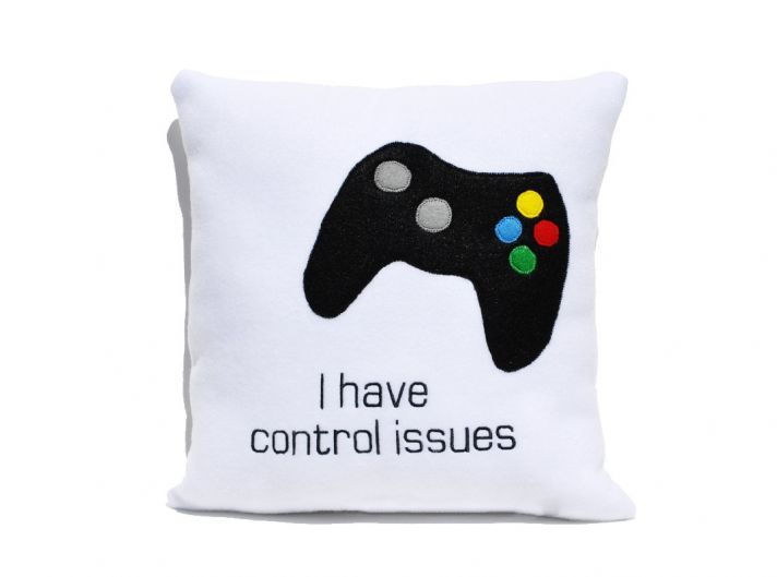 Funny Pillow for my Gamer family.