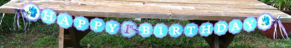 Monsters Inc Banner monsters inc happy by MerryMakersPapier, $24.00