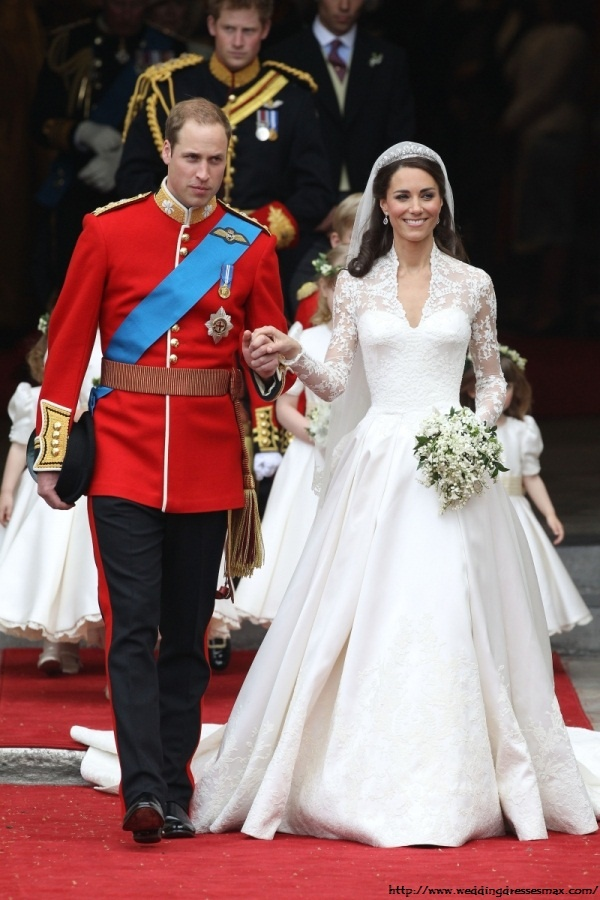 William and Kate's Wedding Day April 20, 2011