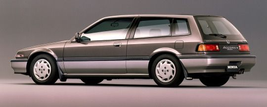 Honda Accord Aerodeck 2.0 Si, 1987. The 'shooting brake' Accord only lasted one generation, the next Accord Aerodeck was a conventional 5-door wagon