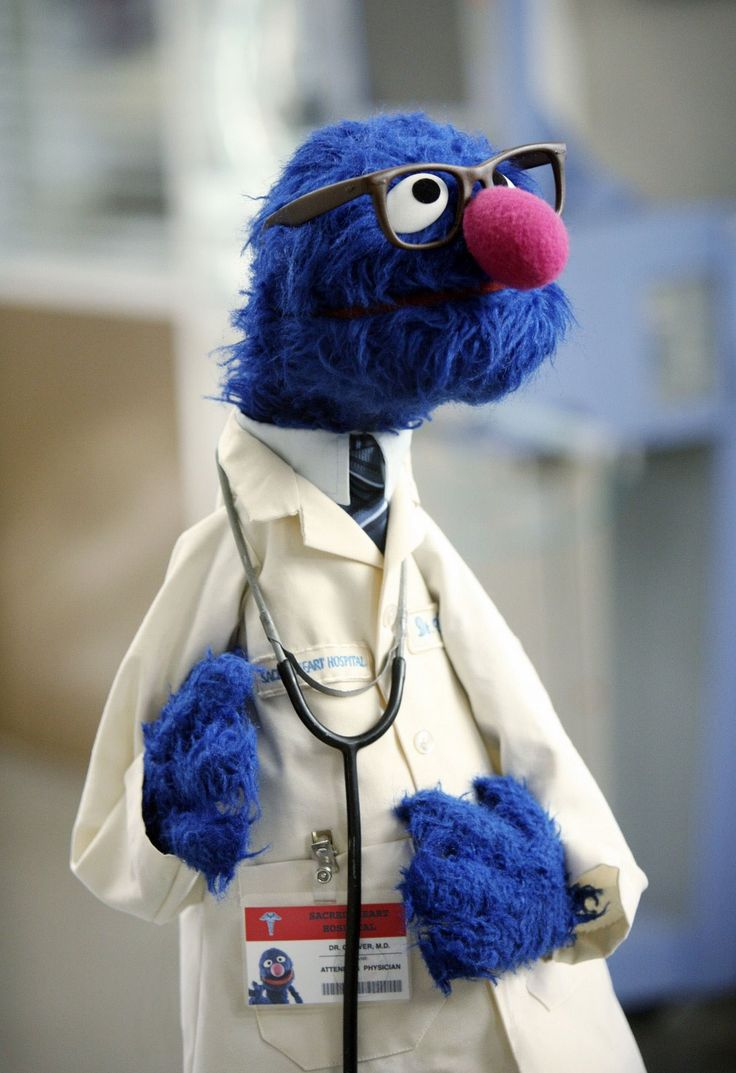 Dr. Grover - yeah well its an icon in glasses its what the board says