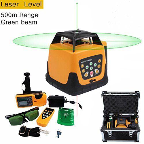 Iglobalbuy Automatic Self Leveling Rotary Laser Level Gre Https Www Amazon Com Dp B00mtf9oii Ref Cm Sw R Pi Dp U X Kygsa Laser Levels Beams Remote Control