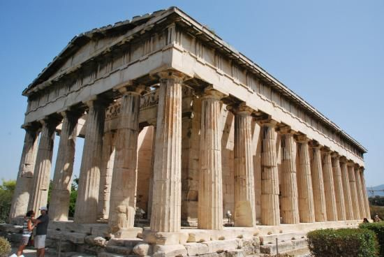 Temple Of Hephaestus Athens Athens Tourist Athens Temple