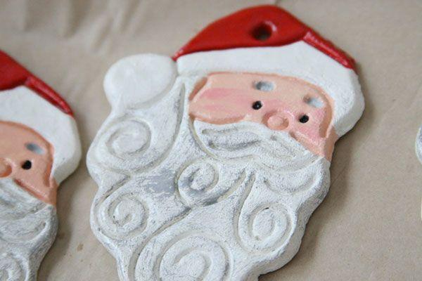 Babbo Natale in pasta di sale