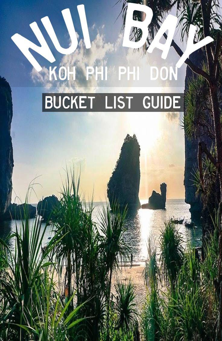 Guide: Nui Bay - Koh Phi Phi