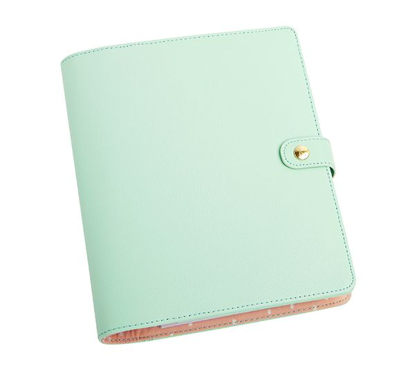 Show some #Planner #Love with this #kikkiK Mint Personal Planner #leather #organisation