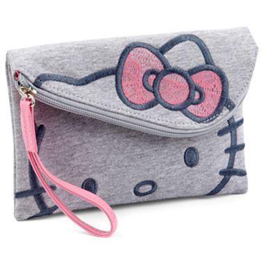 Hello Kitty Foldover Wristlet