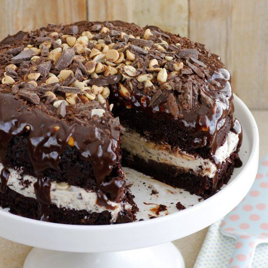 Snickers Chocolate Cake Perfect for - Snickers Chocolate Cake Perfect for Birthdays