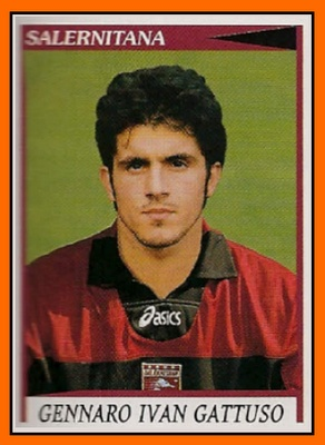 #Figuritas Gennaro Ivan Gattuso - Salernitana 1998