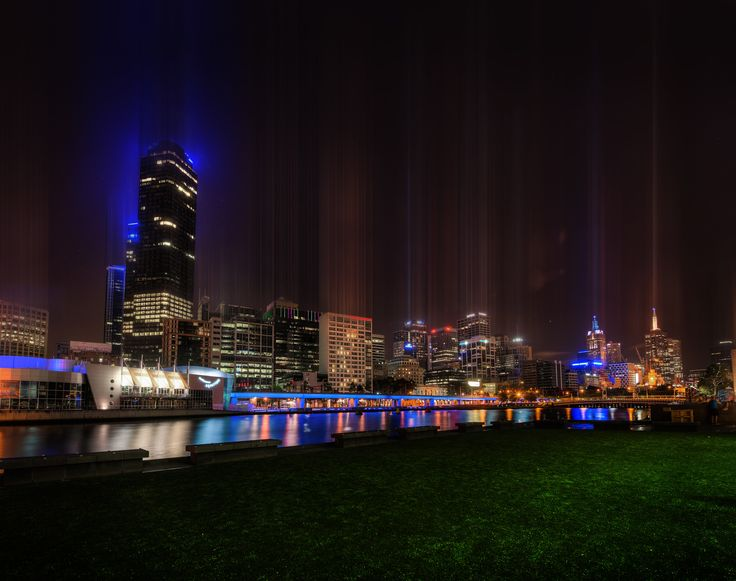 Melbourne from across the river